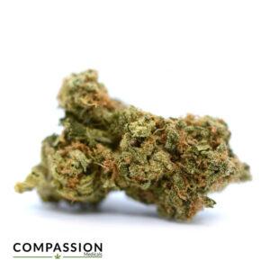 a close up of cannabis flower